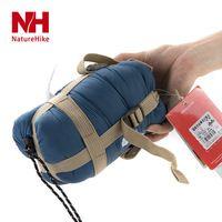ultra-ligero para dormir bolsa de sobres de dormir bolsas de aire acondicionado Mini dormir marca bolsa de viaje de camping al aire libre