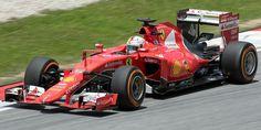 Ferrari SF15-T - 2015 - Sebastian Vettel en Malaisie