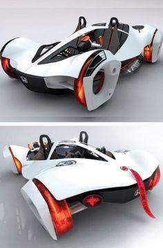 Honda-air-cpmressed-air-eco-friendly-car-concept-light,J-L concept cars Future Concept Cars, Future Car, 2020 Future, Honda, Dream Cars, Cars Vintage, Retro Cars, Automobile, Eco Friendly Cars