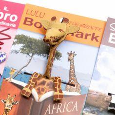Giraffe bookmark from Rigadritto, Milan