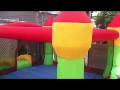 Bounceland Castle W/Hoop Inflatable Bounce House Bouncer | ToyCorridor