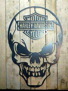 Skull Wall Art, Metal Tree Wall Art, Wall Plaques, Wall Signs, Retro Room, Steel Art, Vintage Type, Skull And Bones, Metal Signs