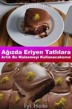easiest, simple, practical, various dairy desserts with recipes # tatlıtarif Snack Recipes, Dessert Recipes, Snacks, Roasted Eggplant Dip, Pasta Cake, Cream Cake, Food Art, Chocolate Cake, Deserts