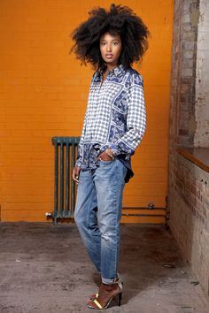 Fashion editor and street style star Julia Sarr-Jamois in the new #NewIcons campaign from The Iconic.