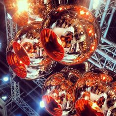 Copper Shade Lighting by Tom Dixon