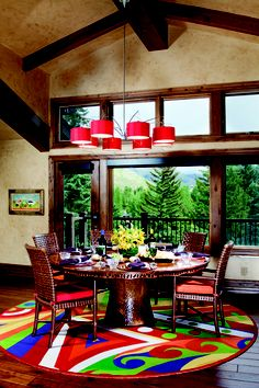 'Studio 60'  Interior design by Carol Moore as featured in Vail Magazine.