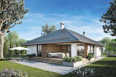 Atrium, Street Image, Tuscan House, Modern House Design, Facade, Gazebo, House Plans, Sweet Home, Outdoor Structures