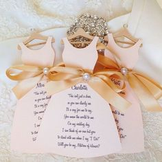 Wedding Idea of the Day! This is the perfect way to ask your best girls to be your bridesmaid! Read more at http://websta.me/n/weddingideas#ISl5rVi7uyFjVyY6.99