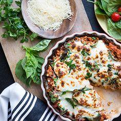 Cauliflower Crust Lasagna - Cali'flour Foods