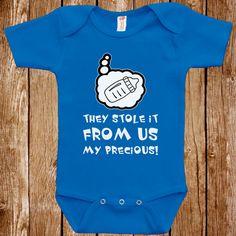 Lustige Baby Kleinkind-Herr der Ringe-Parodie-Bodysuit