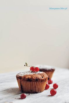 Delightfully sweet little Red Currant Muffins