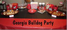 Georgia Bulldog Party. Fun! #UltimateTailgate #Fanatics