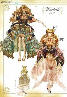 IMC Games, Granado Espada, Warlock (Granado Espada), Character Sheet