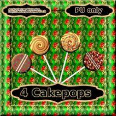 4 Crazy Cakepops