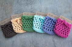 Pink Soap Saver Soap Cozy Crochet Soap Saver by ShadyCreekFarmNC