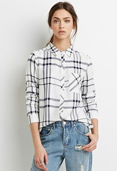 Forever21 Plaid-Patterned Boxy Shirt ($19.90)
