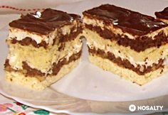 Hungarian Cake, Hungarian Recipes, Cake Cookies, Cupcakes, Sweet And Salty, Tiramisu, Sweets, Ethnic Recipes, Cakes