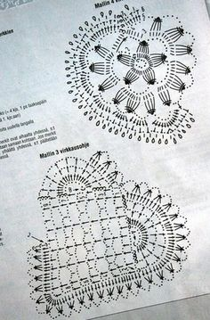 Crochet : petits modèles = idéal pour finir les restes de coton - le blog du fil