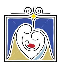 The Nativity Gift Royalty Free Stock Vector Art Illustration Christmas Rock, Christmas Nativity Scene, Christmas Holidays, Christmas Decorations, Christmas Ornaments, Nativity Scenes, Felt Ornaments, Pinterest Christmas Crafts, Christmas Drawing