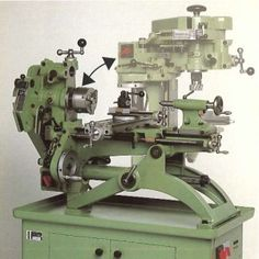 Manufactured for over half a century and formally known as the Astoba UW1, the Swiss made Meyer and Burger (later Richard) UW1 multi-purpose machine tool is based upon a lathe that can be swiveled into the vertical plane. The machine was available in two versions the model K and model S the principle difference being …