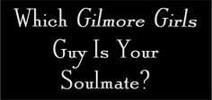 "Which ""Gilmore Girls"" Guy Is Your Soulmate?   I got dean...yet again"