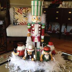 Very Sweet Nutcracker Display::For the Christmas Holidays!