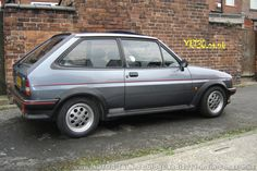 Ford Fiesta XR2 grey... Yep, I had one XR2i in the same colour back in the 80's. It handled like a go kart in my boy racer days