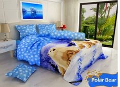 SpreiMaster: Sprei & Bed Cover Santika Polar Bear minat call:085228181942