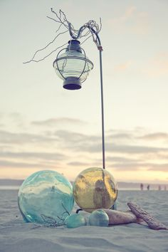 Deko für die Strandzeremonie