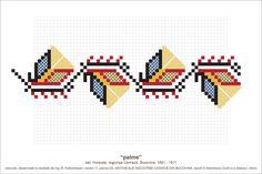 Tapestry Crochet Patterns, Knitting Patterns, Cross Stitch Borders, Cross Stitch Patterns, Folk Embroidery, Needlepoint, Folk Art, Diy And Crafts, Quilts