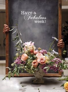 stunning flower arrangement!