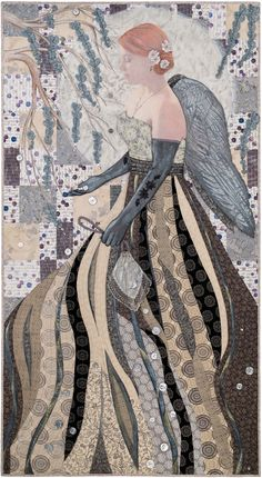 Readers Quilt Show Celebrating Silver in Quilters Newsletter August/September 2016.
