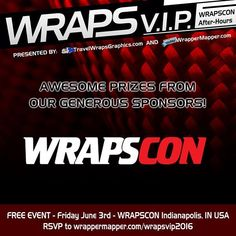 Super proud to support @wrapscon in Indy this year and love the prizes they have offered up.   Promoting Wrappers Around the World   Are You On The Map?   WEB: http://ift.tt/1fC1vAh FB: http://ift.tt/1D7uQxf TWITTER: http://www.twitter.com/wrappermapper  #wrappermapper #worldwraps #carwraps #carwrap #vehicle #vehiclewrap #sportscar #exotic #exoticcar #exoticcars #chrome #chromewraps  #carporn #love #beautiful #beauty #cool #awesome #Porsche #masarati  #lamborghini #bmw #mercedes #bugatti…