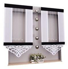 Kitchen Curtain Designs, Kitchen Curtains, Panel, Fabric Decor, Household, Living Room, Interior Design, Mirror, Furniture