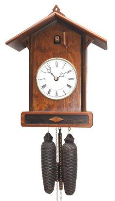 Romach und Haas Craftsman Cuckoo Clock with 8 Day Movement 8256