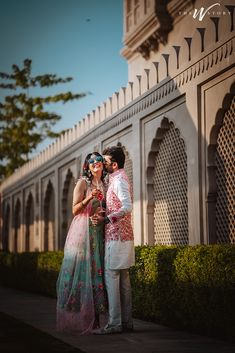 A Royal Jaipur Wedding With Bride In Beautiful Mehendi Outfit! Check out photos, ideas & stories shared by Bride & Groom. Wedding Goals, Wedding Story, Post Wedding, Wedding Pics, Wedding Couples, Destination Wedding, Wedding Ideas, Summer Wedding Outfits, Summer Weddings