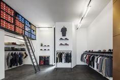 Оформление магазина спортивной одежды Novacane в Берлине, Германия