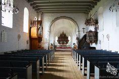 Innenraum der Aa Kirche in Aakirkeby, Bornholm #orgel #altar #kanzel #aakirche #aakirke #bornholm #aakirkeby