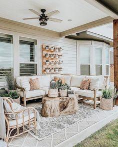 Root Outdoor Coffee Table—Arhaus - Outdoor living - Home Sweet Home Diy Terrasse, Outdoor Coffee Tables, Diy Patio, Patio Decks, Pavers Patio, Patio Plants, Wood Patio, My New Room, Outdoor Living