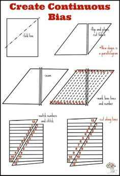 Quilting Tips, Quilting Tutorials, Sewing Tutorials, Sewing Patterns, Skirt Patterns, Dress Tutorials, Coat Patterns, Blouse Patterns, Sewing Basics