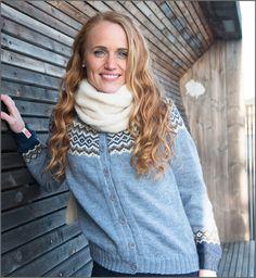 Merdø kofte kan du enten strikke i baby alpakka, eller i økologisk ull. Turtle Neck, Knitting, Sweaters, Fashion, Threading, Moda, Tricot, Fashion Styles, Sweater