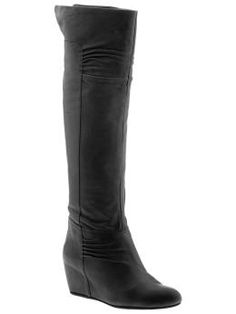 Searching for the perfect black boot...