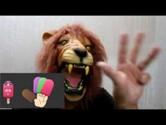 Lion & Ice Cream|  Finger Family song | Nursery Rhymes for KIDS