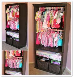 clothing storage ideas   Children's Clothes Storage Ideas