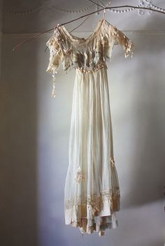 ghostly edwardian gown by annwood, via Flickr