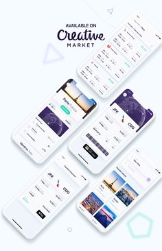 Luxury Flights App on Behance