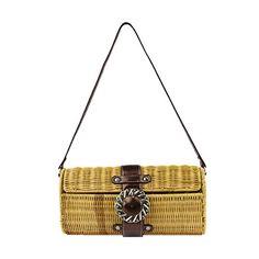 b7728f9ffc MICOM Vintage Rattan Clutch Purse Handmade Beach Shoulder Handbag for Women
