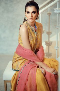 Explore our exclusively designed collection. Buy unstitched & ready to wear designer clothing online. Bridal Mehndi Dresses, Walima Dress, Desi Wedding Dresses, Bridal Dress Design, Pakistani Couture, Pakistani Bridal Dresses, Bridal Collection, Dress Collection, Pakistani Designers