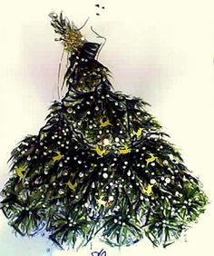 christmas tree dress |