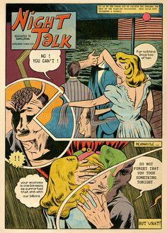 Night Talk by Léo Quievreux dedicated to Samplerman Color Version by Samplerman